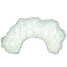 Coussin d'allaitement vert d'eau Gray mist (75 cm)