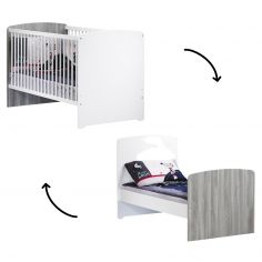 Lit bébé évolutif New Nao Little Big Bed (70 x 140 cm)