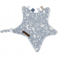 Doudou attache sucette Adventure blue