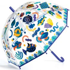 Parapluie enfant magique poissons