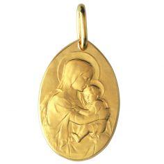 Médaille Baptême de Rasumny recto/verso (or jaune 750°)