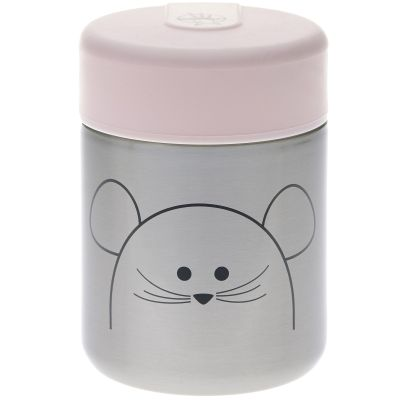 Thermos alimentaire souris Little Chums (315 ml)  par Lässig