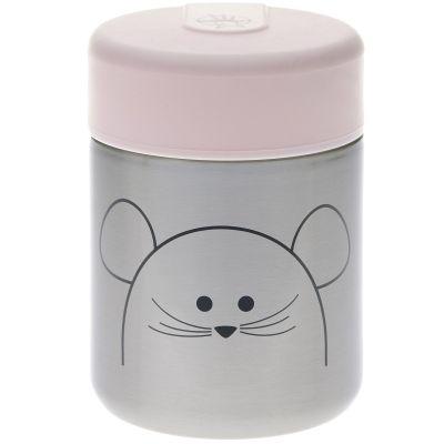 Thermos alimentaire souris Little Chums (315 ml)  par Lässig