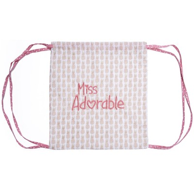 Sac à ficelles Miss adorable  par BB & Co