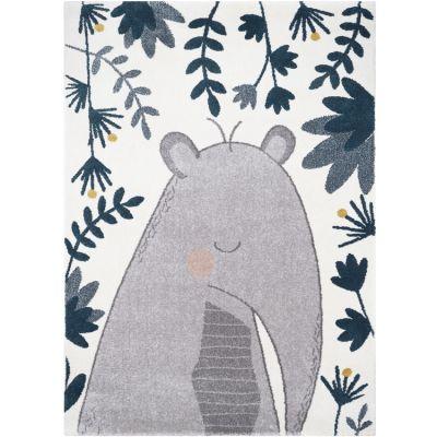 Tapis rectangulaire tapir Boris (120 x 170 cm) Nattiot