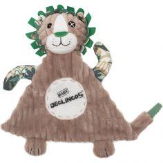 Doudou plat baby Jélékros le lion (28 cm)