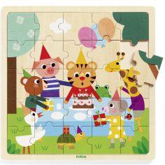 Puzzle en bois Puzzlo Happy (25 pièces)