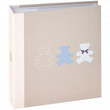 Album photos Timotee bleu 11,5 x 15 cm (100 pages)  par Panodia