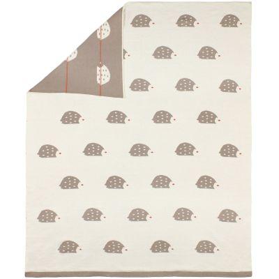 Couverture bébé hérisson en jacquard de coton (80 x 100 cm)  par AFKliving