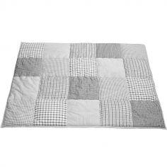 Tapis de jeu Patchwork gris (100 x 80 cm)