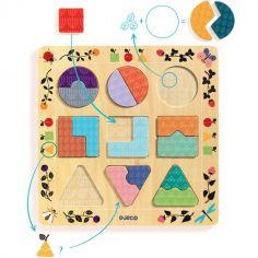 Puzzle en bois Ludigraphic (18 pièces)