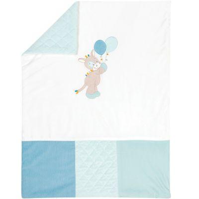 Tapis de parc Tim & Tiloo bleu (110 x 75 cm)  par Nattou