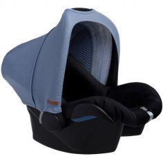 Canopy pour siège auto groupe 0+ bleue