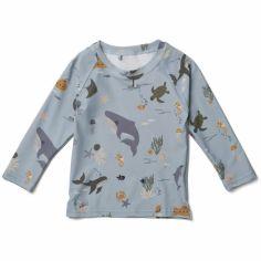 Tee-shirt anti-UV manches longues Noah Sea creature (3-9 mois)