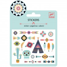 Minis stickers Western Style  par Djeco