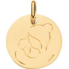 Médaille Maternité 16 mm (or jaune 750°)