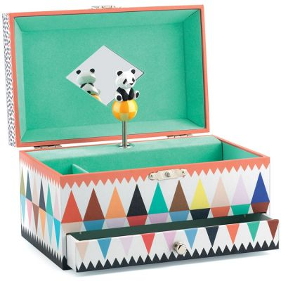 Boîte à bijoux musicale La chanson du panda Djeco