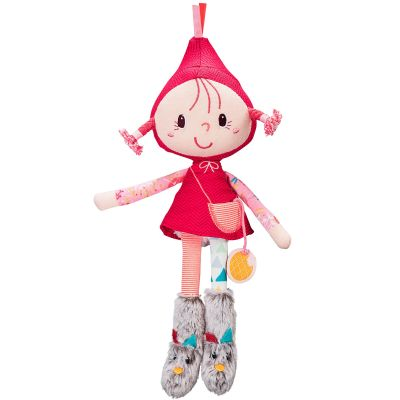 Mini poupée Chaperon rouge (30 cm)  par Lilliputiens