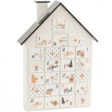 Calendrier de l'Avent réutilisable maison  par Amadeus Les Petits
