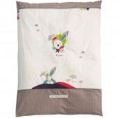 Housse de couette et taie d'oreiller Tinoo (100 x 135 cm) - Sauthon Baby Déco