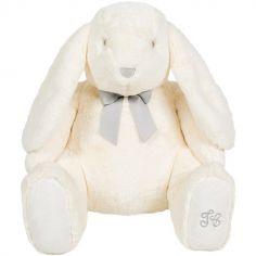 Peluche géante Constant le lapin blanc (60 cm)