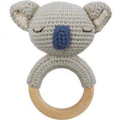 Hochet grelot anneau de dentition Koala