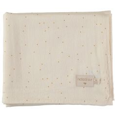 Maxi lange Honey sweet dots (100 x 120 cm)