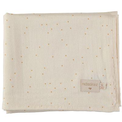 Maxi lange Honey sweet dots (100 x 120 cm)  par Nobodinoz