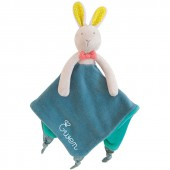 Doudou attache sucette Mademoiselle et Ribambelle personnalisable (25 cm) - Moulin Roty