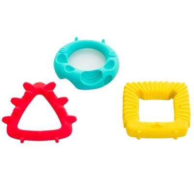 Lot de 3 formes géométriques de dentition BabyToLove
