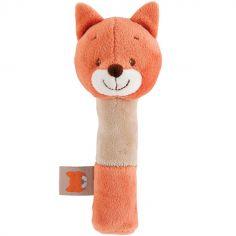 Hochet peluche Oscar le renard (17 cm)