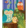 Puzzle famille hibou (64 pièces) - Petit Collage