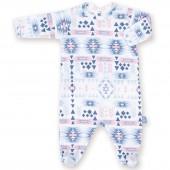 Pyjama léger jersey Apawi shade (0-3 mois : 50 à 60 cm) - Bemini