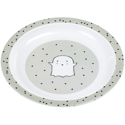 Assiette plate Little Spookies olive  par Lässig