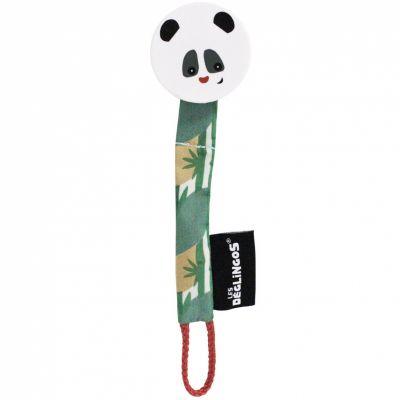 Attache sucette Rototos le panda  par Les Déglingos