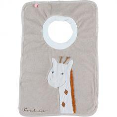 Bavoir passe-tête en éponge Funny Tiga la girafe TSO