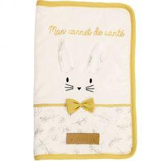 Protège carnet de santé lapin Leafy Bunny