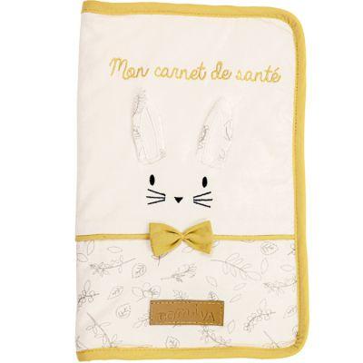 Protège carnet de santé lapin Leafy Bunny  par Domiva