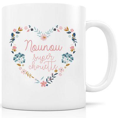 Mug céramique Nounou super chouette  par Signature Label Tour