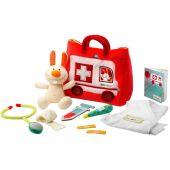 Mallette ambulance du petit docteur (10 pièces) - Lilliputiens