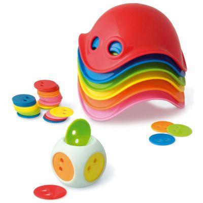 Boîte de Jeu 6 mini Bilibo avec dé de jeu  par Bilibo