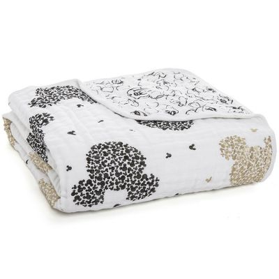 Couverture de rêve Dream Blanket Lights 90 ans de Mickey scatter (120 x 120 cm)