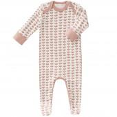 Pyjama léger Feuille rose (naissance : 50 cm) - Fresk