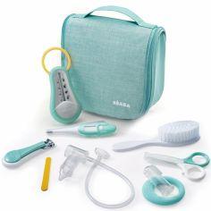 Trousse de soin vert d'eau (9 accessoires)