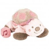 Mini doudou musical à suspendre Lili la tortue (18 cm) - Nattou