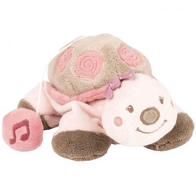 Mini doudou musical à suspendre Lili la tortue (18 cm) Nattou
