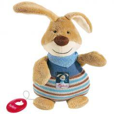 Peluche musicale lapin Semmel Bunny (25 cm)
