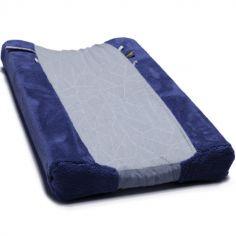 Housse de matelas à langer Midnight Bleu (45 x 70 cm)