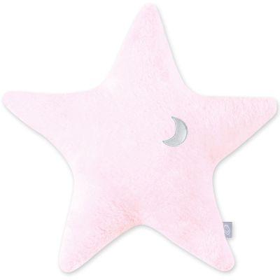 Coussin étoile softy Stary rose cristal (30 cm)  par Bemini