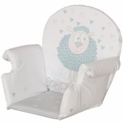 Coussin de chaise haute Plus rabats pvc mouton Geuther